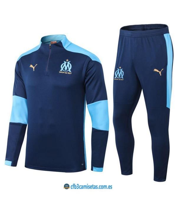 CFB3-Camisetas Chándal olympique marsella 2020/21 - azul
