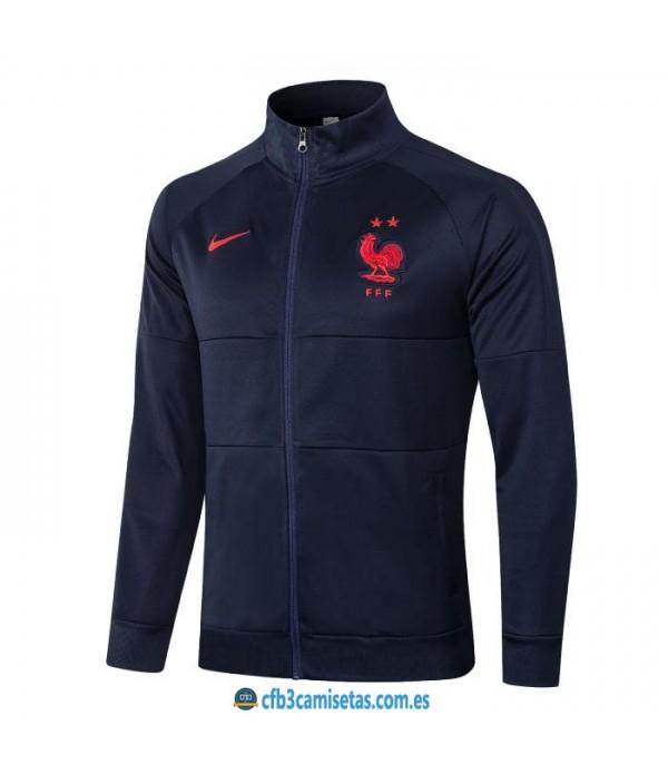 CFB3-Camisetas Chaqueta francia 2020/21