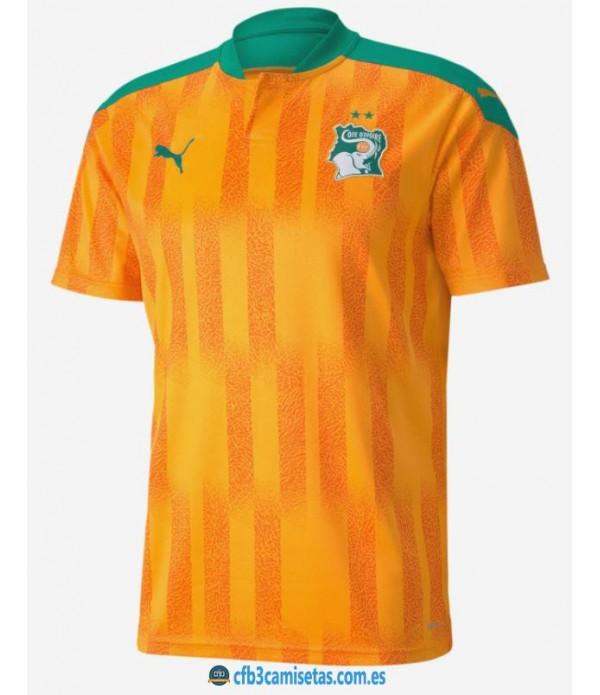 CFB3-Camisetas Costa de marfil 2a equipación 2020/21