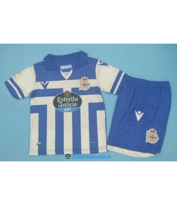 CFB3-Camisetas Deportivo 1a equipación 2020/21 - niÑos