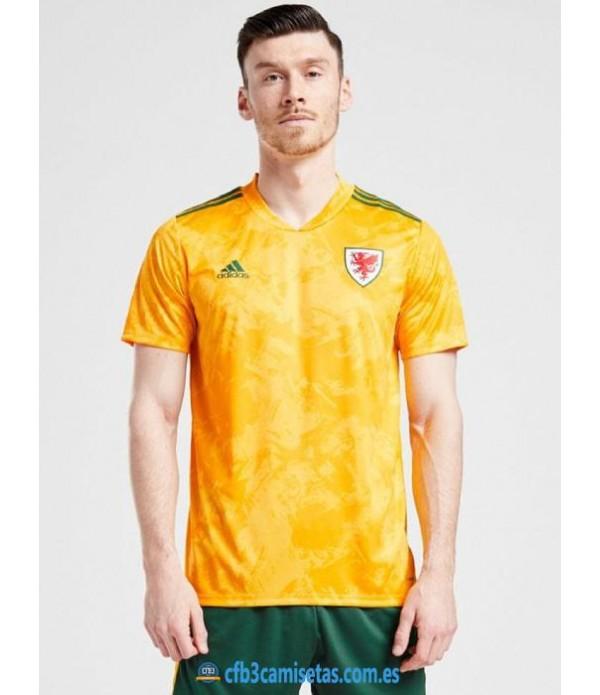 CFB3-Camisetas Gales 2a equipación 2020/21