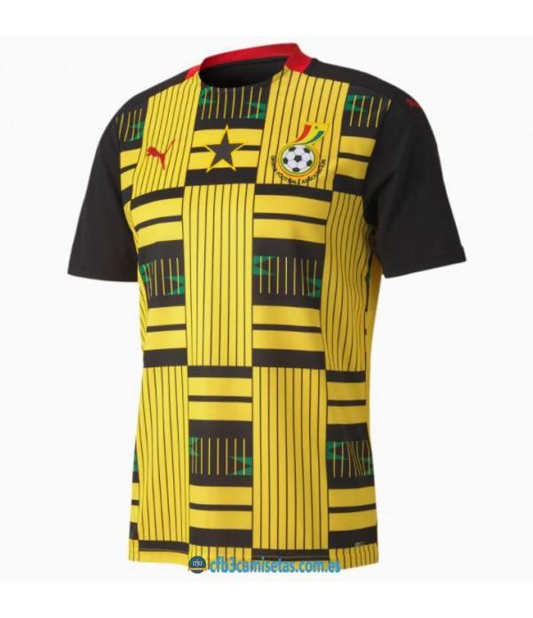 CFB3-Camisetas Ghana 2a equipación 2020/21