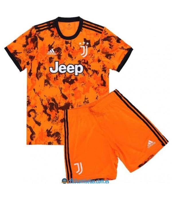 CFB3-Camisetas Juventus 3a equipación 2020/21 - niÑos