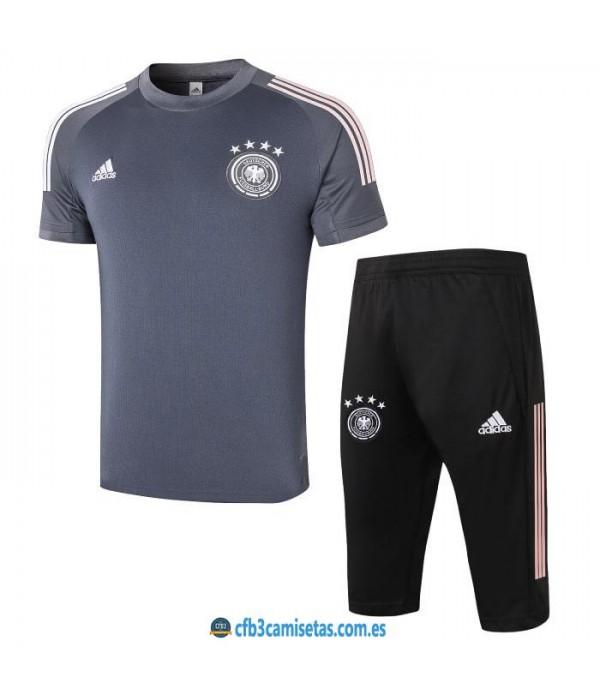 CFB3-Camisetas Kit entrenamiento alemania 2020/21 - gris