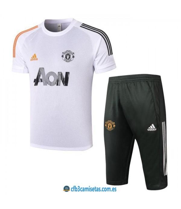 CFB3-Camisetas Kit entrenamiento manchester united 2020/21