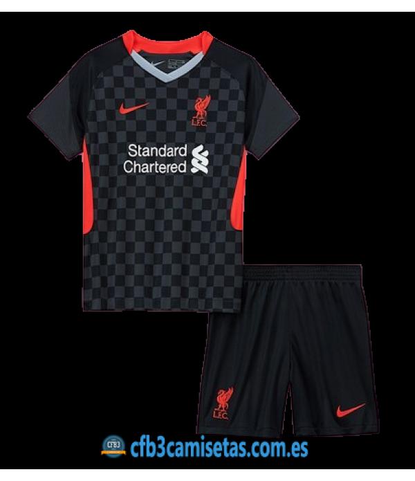 CFB3-Camisetas Liverpool 3a equipación 2020/21 - niÑos