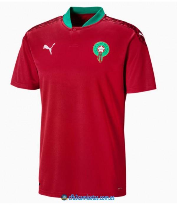 CFB3-Camisetas Marruecos 1a equipación 2020/21
