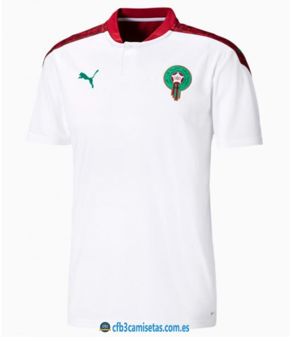 CFB3-Camisetas Marruecos 2a equipación 2020/21