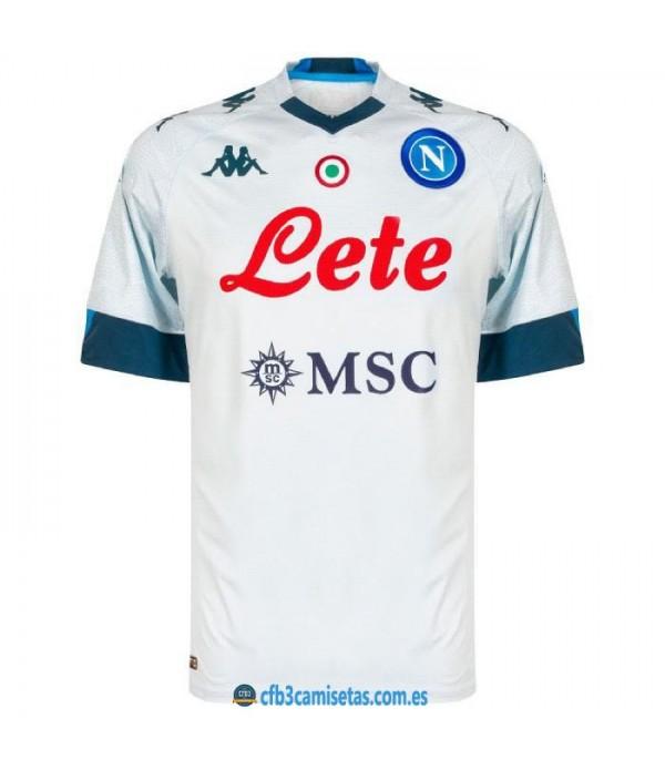 CFB3-Camisetas Napoli 2a equipación 2020/21