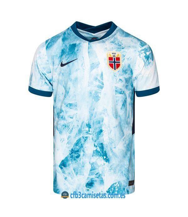 CFB3-Camisetas Noruega 2a equipación 2020/21