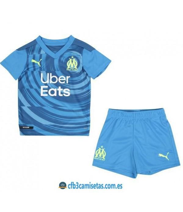 CFB3-Camisetas Olympique marsella 3a equipación 2020/21 - niÑos
