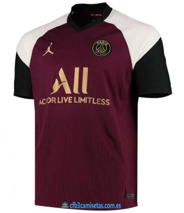 CFB3-Camisetas Psg 3a equipación 2020/21