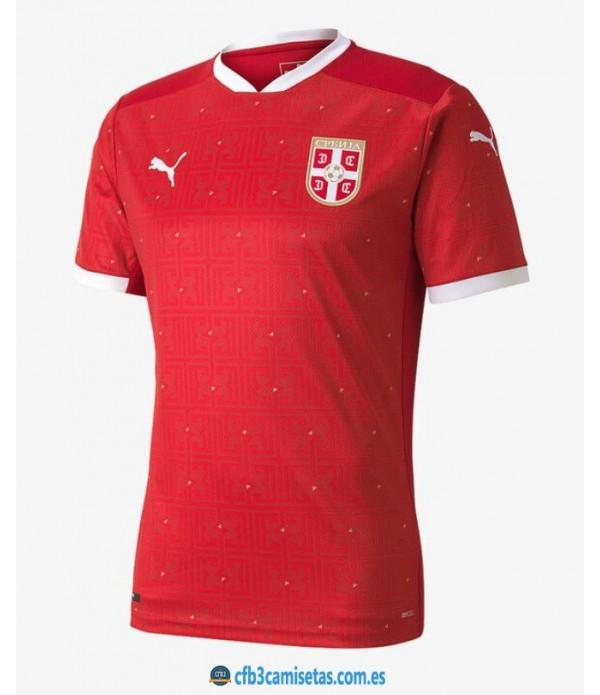 CFB3-Camisetas Serbia 1a equipación 2020/21