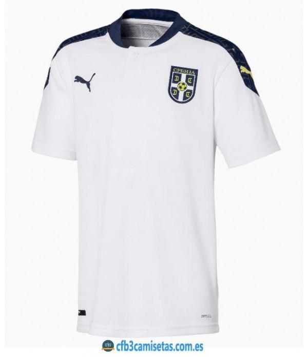 CFB3-Camisetas Serbia 2a equipación 2020/21