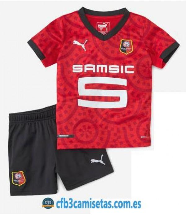 CFB3-Camisetas Stade rennais 1a equipación 2020/21 - niÑos