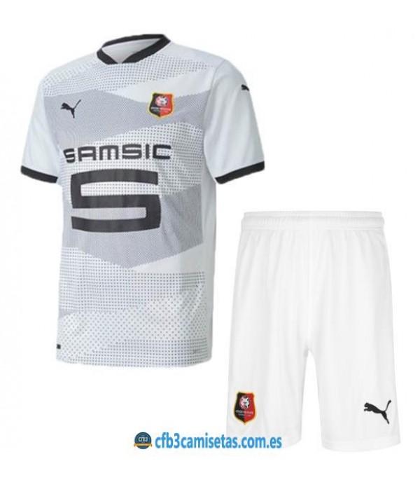 CFB3-Camisetas Stade rennais 2a equipación 2020/21 - niÑos