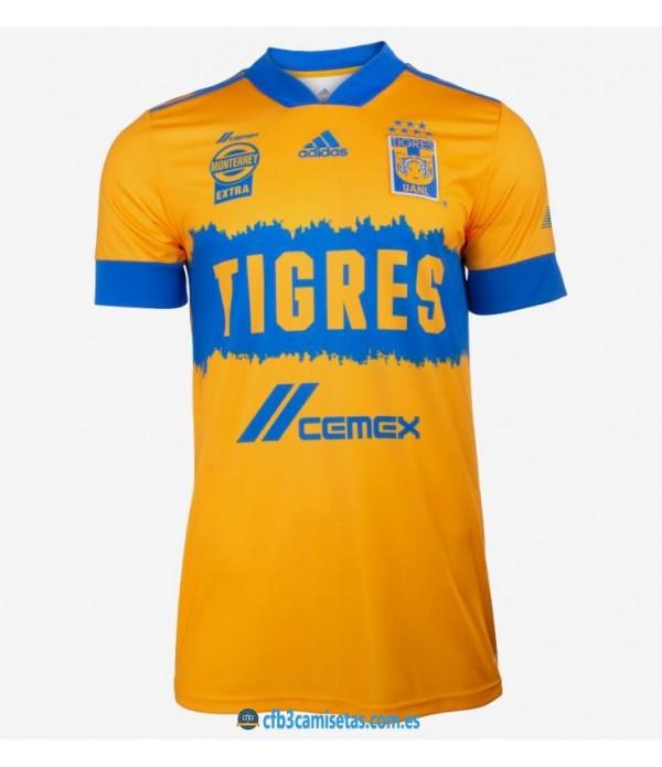 CFB3-Camisetas Tigres 1a equipación 2020/21