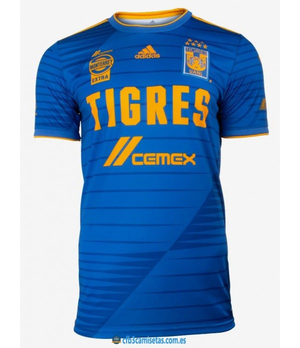 CFB3-Camisetas Tigres 2a equipación 2020/21
