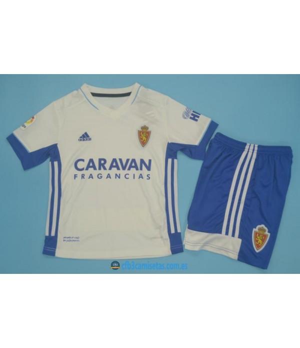CFB3-Camisetas Zaragoza 1a equipación 2020/21 - niÑos