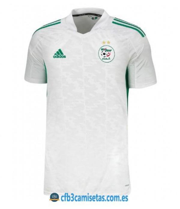 CFB3-Camisetas Argelia 1a equipación 2020/21