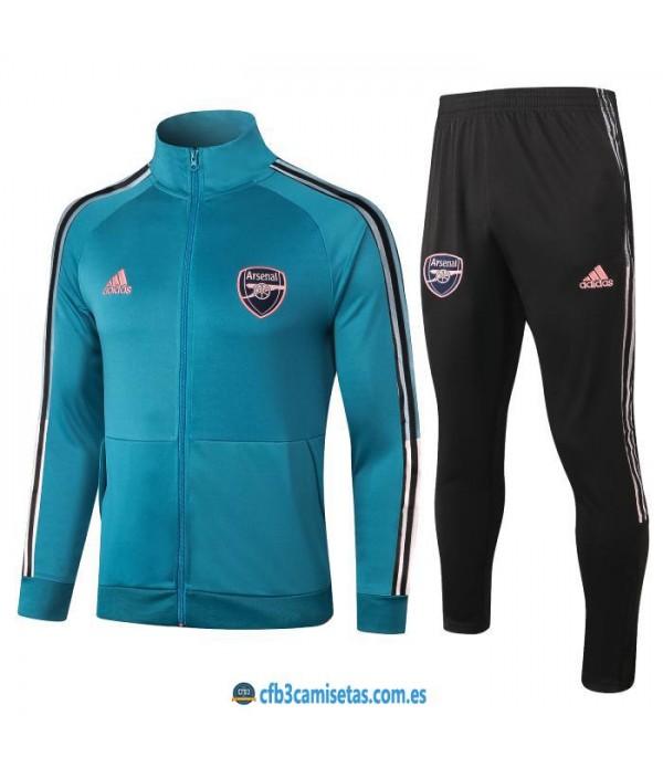 CFB3-Camisetas Chándal arsenal 2020/21 - azul