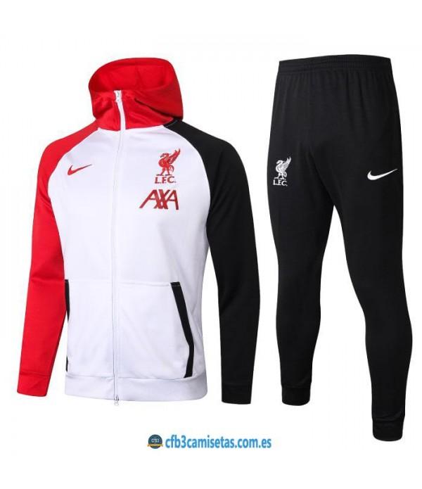 CFB3-Camisetas Chándal liverpool 2020/21 - capucha