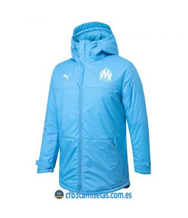 CFB3-Camisetas Chaqueta acolchada olympique marsella 2020/21