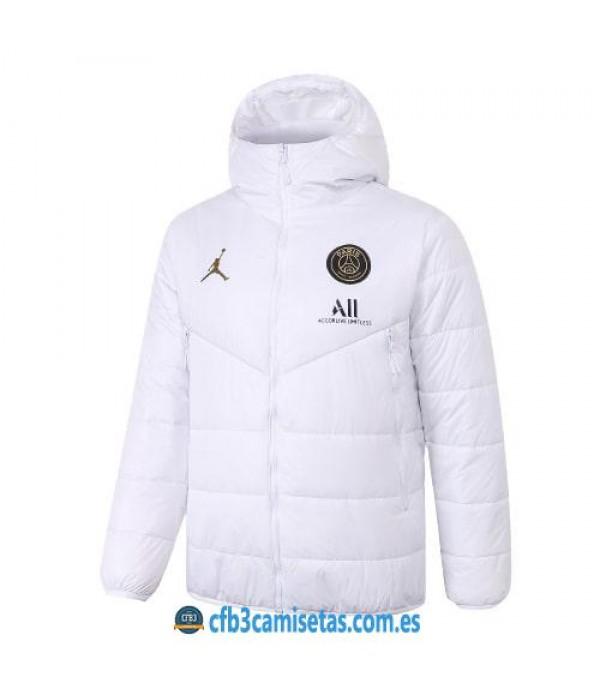 CFB3-Camisetas Chaqueta acolchada psg x jordan 2020/21