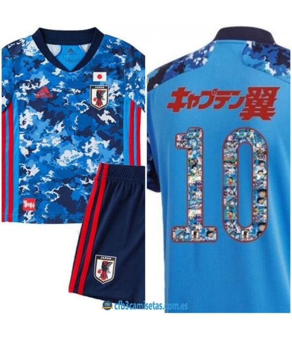 CFB3-Camisetas Japón 2020/21 oliver y benji / super campeones - niÑos