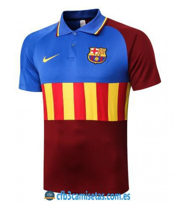 CFB3-Camisetas Polo fc barcelona 2020/21 - senyera