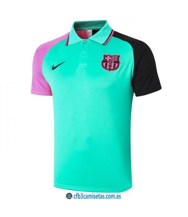 CFB3-Camisetas Polo fc barcelona 2020/21 - verde