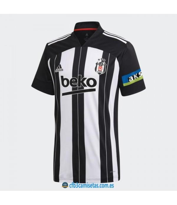 CFB3-Camisetas Besiktas jk 1a equipación 2020/21