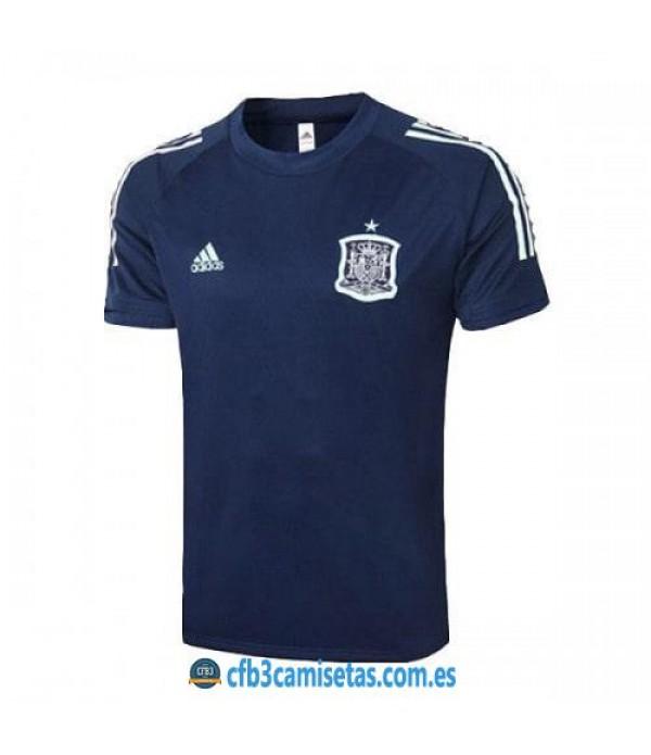 CFB3-Camisetas Camiseta entrenamiento españa 2020/21 - azul
