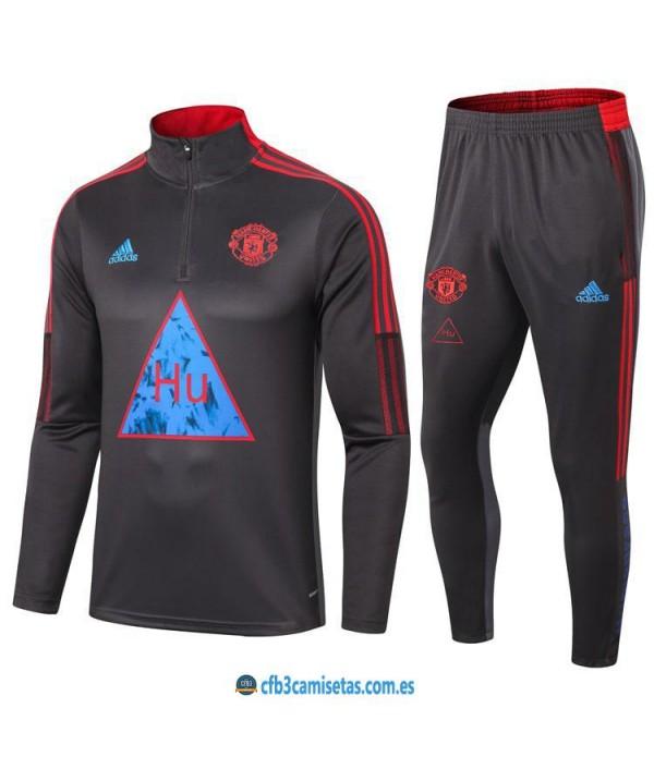 CFB3-Camisetas Chándal human race manchester united 2020/21
