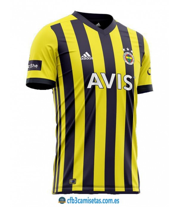 CFB3-Camisetas Fenerbahce 1a equipación 2020/21