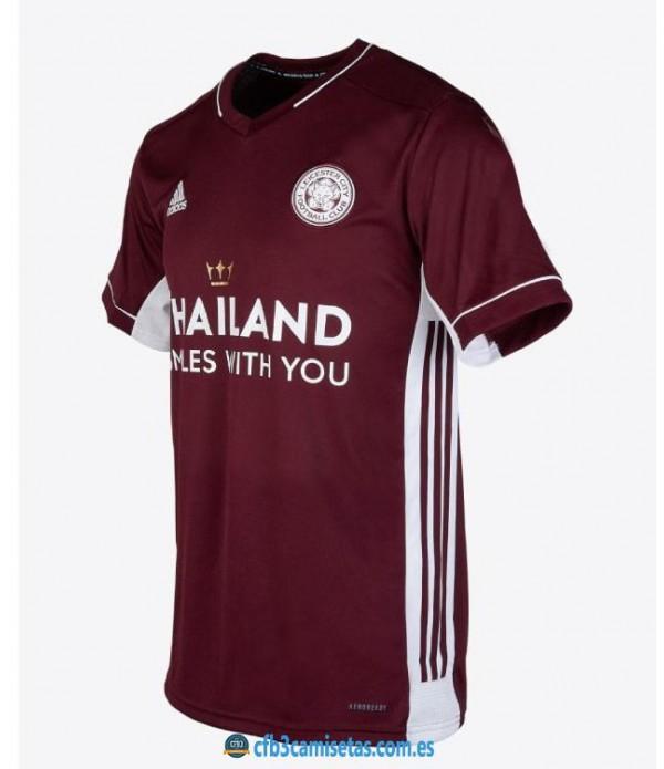 CFB3-Camisetas Leicester city 2a equipación 2020/21