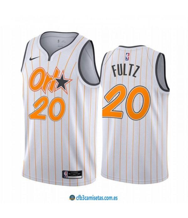 CFB3-Camisetas Markelle fultz orlando magic 2020/21 - city edition