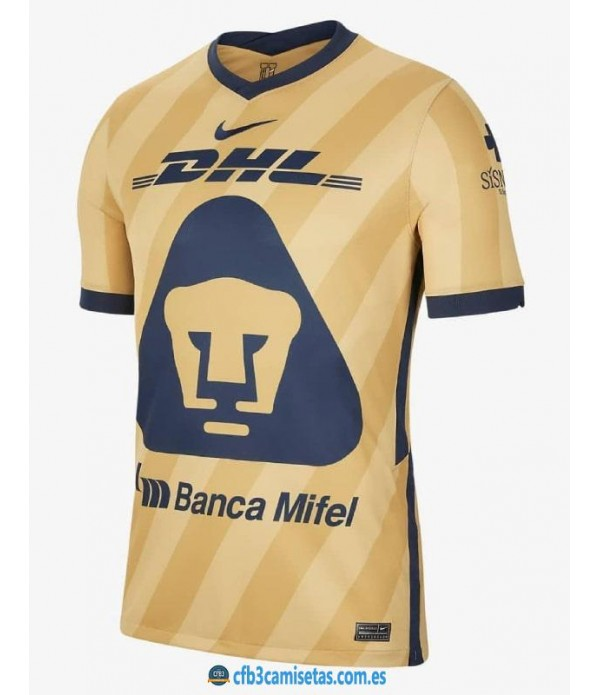 CFB3-Camisetas Pumas unam 3a equipación 2020/21