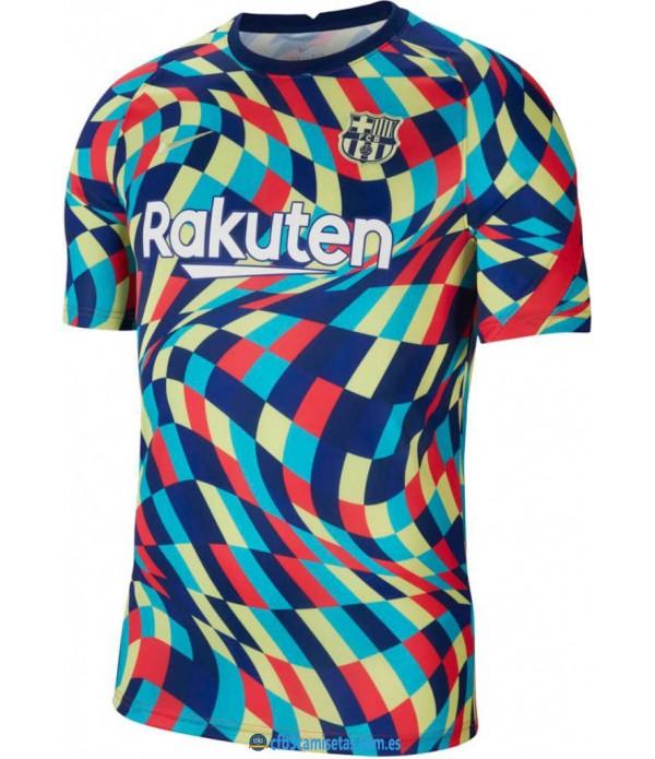 CFB3-Camisetas Camiseta entrenamiento fc barcelona 2020/21 color