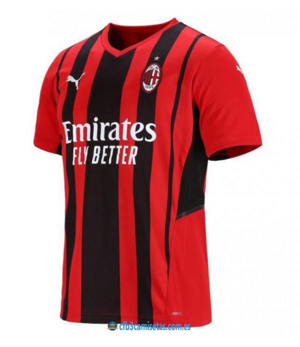 CFB3-Camisetas Ac milan 1a equipación 2021/22