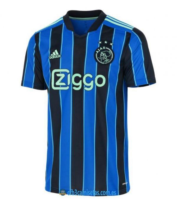 CFB3-Camisetas Ajax 2a equipación 2021/22