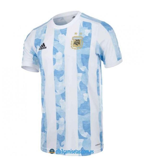 CFB3-Camisetas Argentina 1a equipación 2021