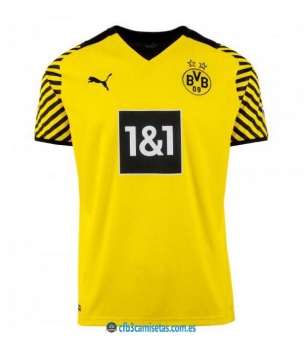 CFB3-Camisetas Borussia dortmund 1a equipación 2021/22