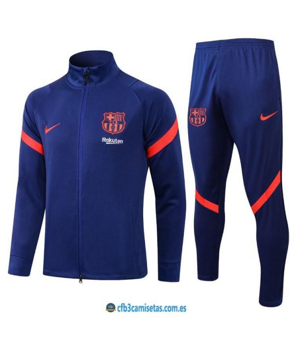 CFB3-Camisetas Chándal fc barcelona 2021/22