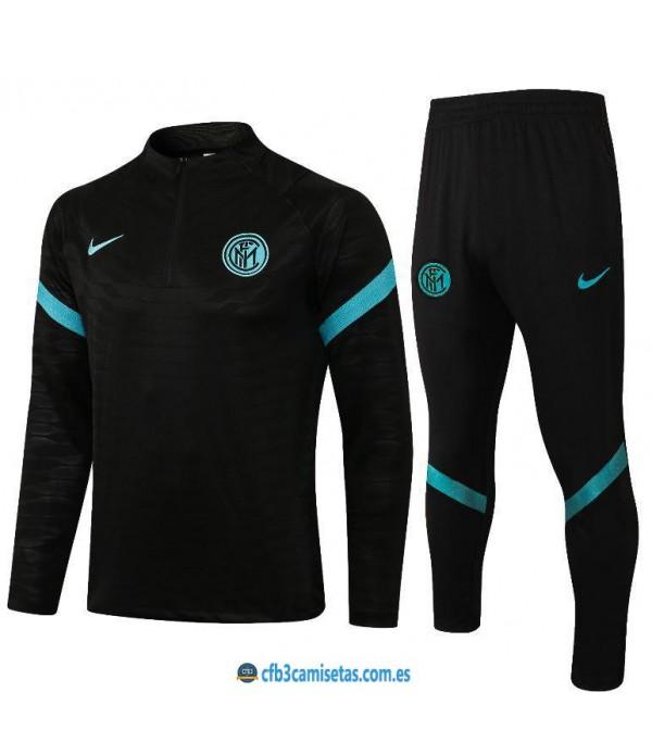 CFB3-Camisetas Chándal inter milán 2021/22 negro
