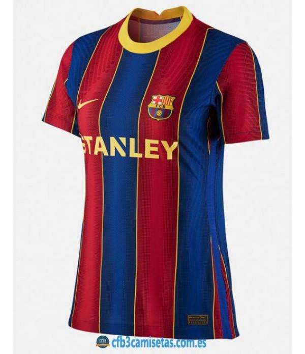 CFB3-Camisetas Fc barcelona femenino 1a equipación 20/21 - mujer