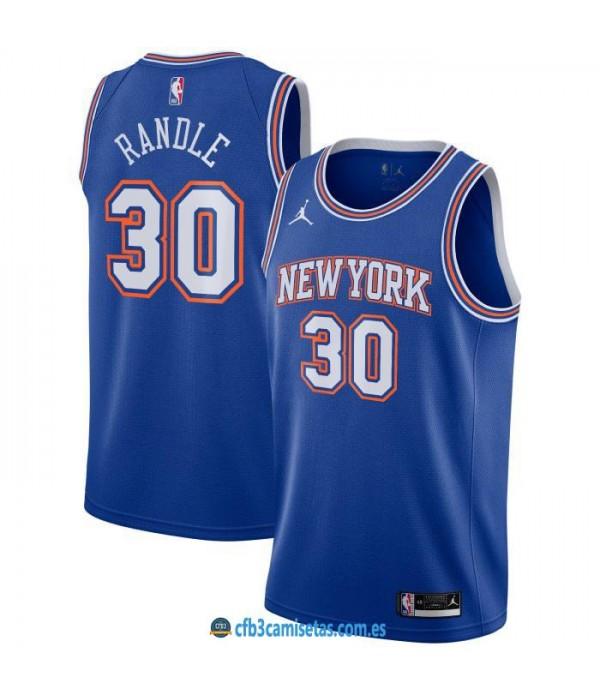 CFB3-Camisetas Julius randle new york knicks 2020/21 - statement