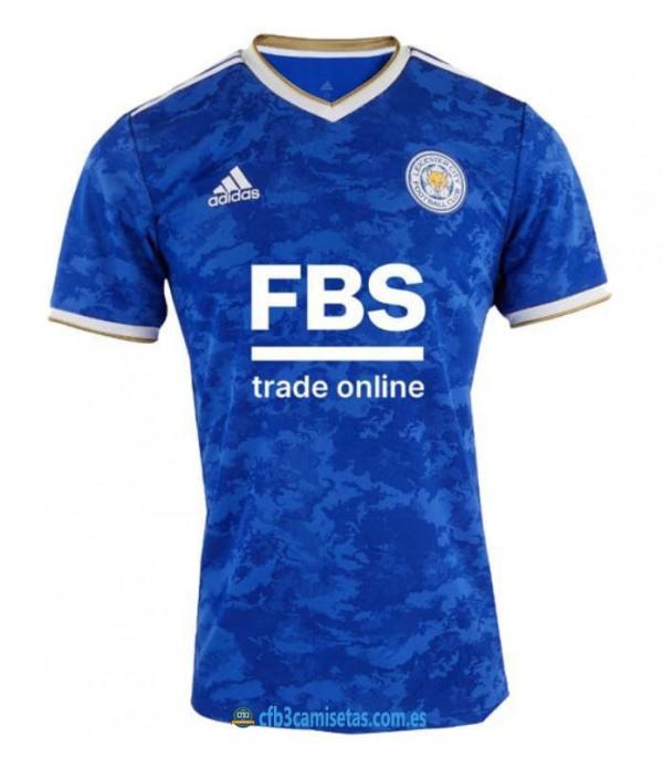 CFB3-Camisetas Leicester city 1a equipación 2021/22