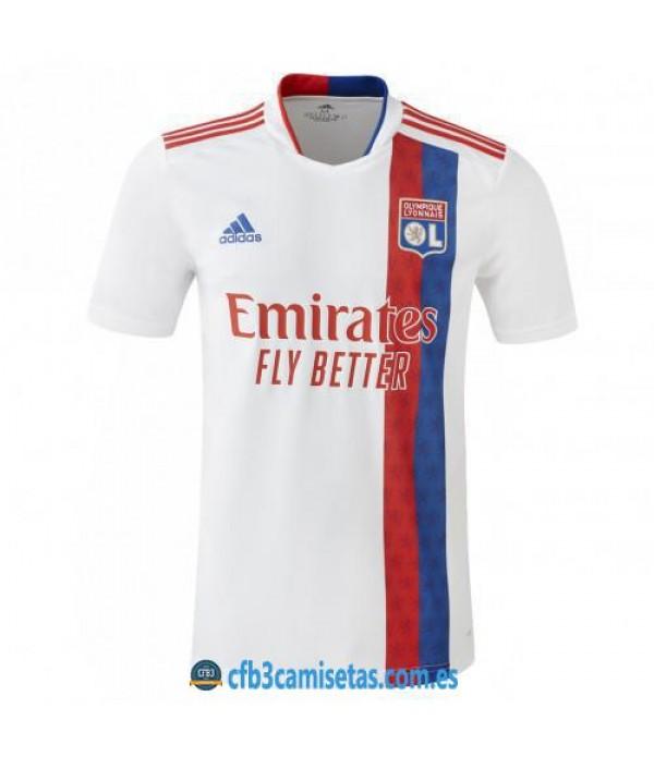 CFB3-Camisetas Olympique lyon 1a equipación 2021/22