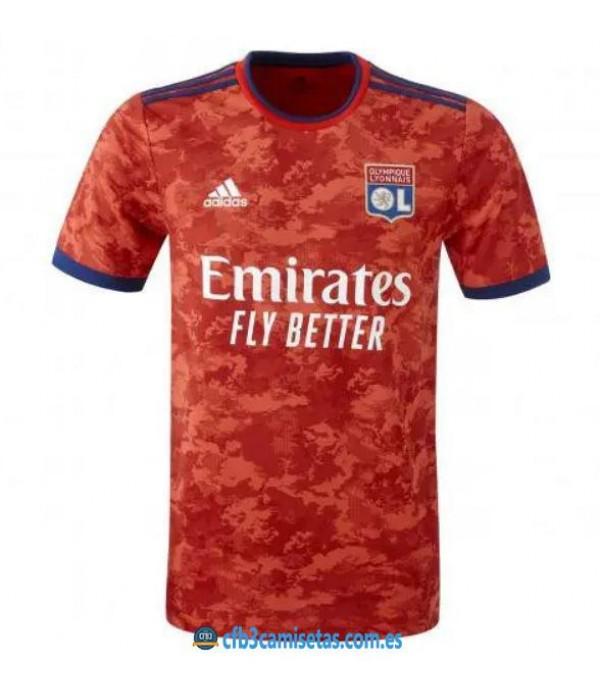 CFB3-Camisetas Olympique lyon 2a equipación 2021/22